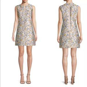 Tory Burch Abigail Sleeveless Shift Dress Jacquard